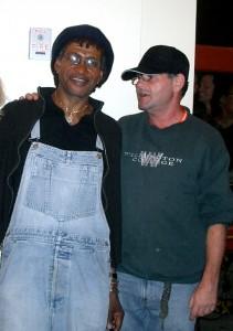 Gary Scott with Sly Dunbar July 09 KC MO