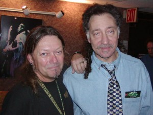 with Buddy Cage of NRPS